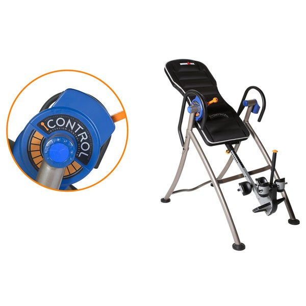 IRONMAN iCONTROL 600 Weight Extended Disk Brake Inversion Table - Blue