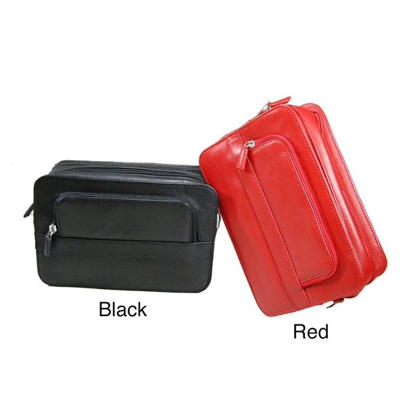 Castello Leather Organizer Bag
