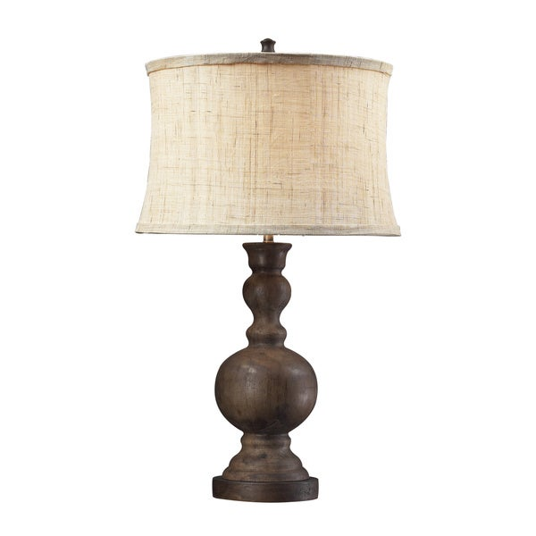 Arden 1-light Dark Oak Table Lamp