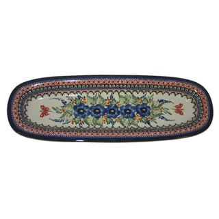 Stoneware Serving Platter (Poland)