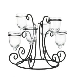 Wrought Iron Candle Display