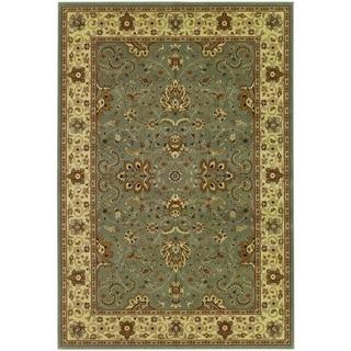 Izmir Floral Bijar/ Grey Area Rug (5'3 x 7'6)