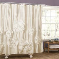 Copper Grove Bonnecherre Ruffle Trim Shower Curtain
