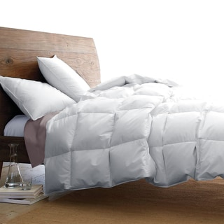 Oversize White Goose Down Blend Luxury Comforter