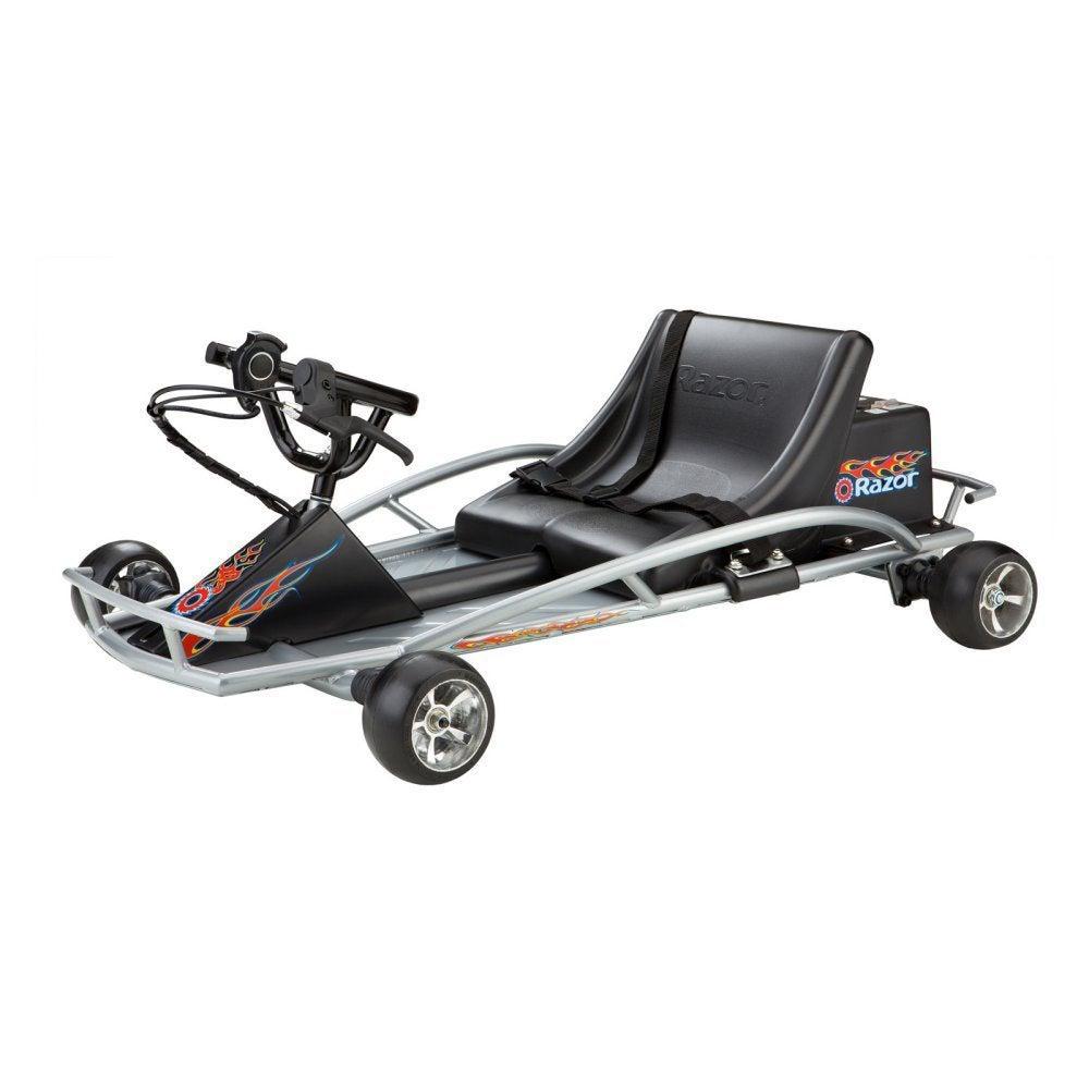 Razor Ground Force Electric Go Kart, Black