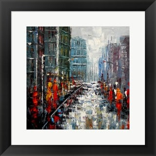 'City Landscape' Framed Art