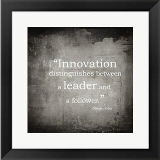 'Innovation' Framed Art