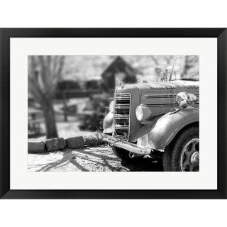 'Fire Engine - Jerome, Arizona' Framed Art