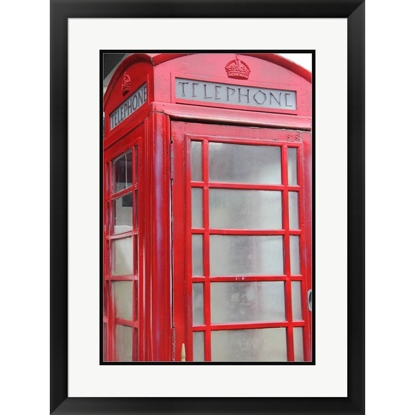Delaney Flanders 'Vintage Booth' Framed Art
