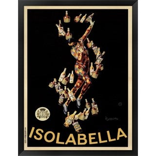 Leonetto Cappiello 'Isolabella' Framed Art