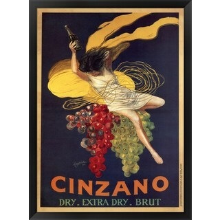 Leonetto Cappiello 'Cinzano' Framed Art
