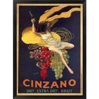Leonetto Cappiello 'Cinzano' Framed Art