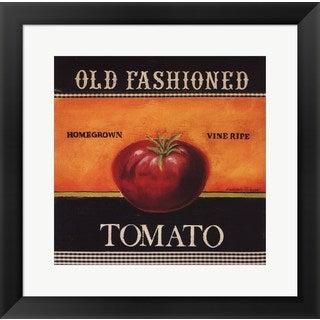 Kimberly Poloson 'Old Fashioned Tomato' Framed Art