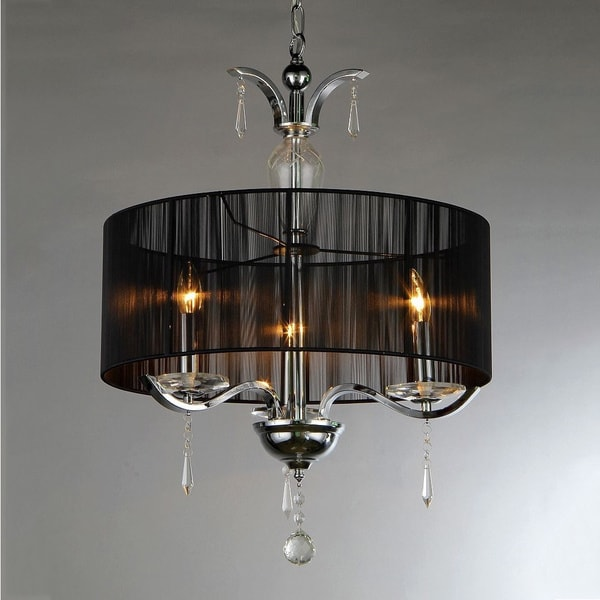 Circuit Crystal Chandelier