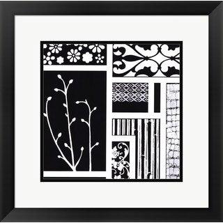 Hakimipour - Ritter 'Negative' Framed Art