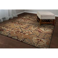 Easton Phoenix Ivory-Salmon Area Rug - 7'10 x 11'2