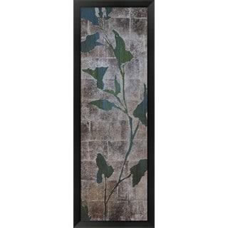 Liz Jardine 'Transparent Leaves II' Framed Art