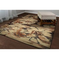 "Couristan Easton Mosaic Florals Multi Area Rug - 7'10"" x 11'2"""