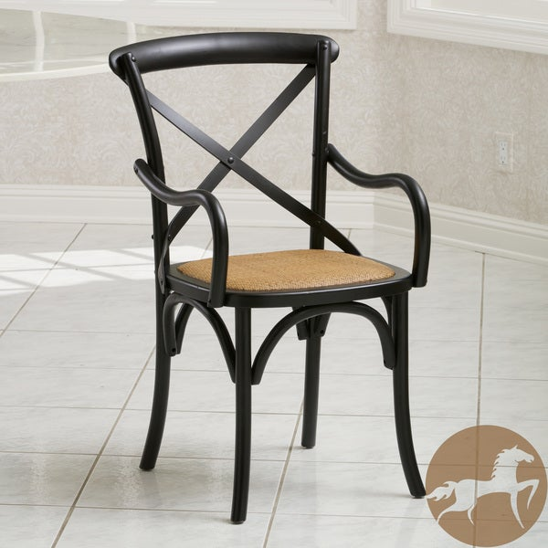 Mandalay Black Birch Dining Chair by Christopher Knight Home