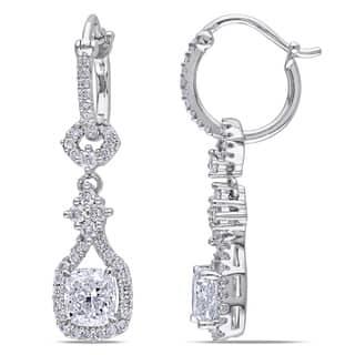 Miadora Signature Collection 14k Gold 1 7/8ct TDW Cushion Cut Diamond Vintage Earrings|https://ak1.ostkcdn.com/images/products/8474852/Miadora-14k-Gold-1-7-8ct-TDW-Cushion-Cut-Linear-Diamond-Vintage-Earrings-G-H-I1-I2-P15764545.jpg?impolicy=medium