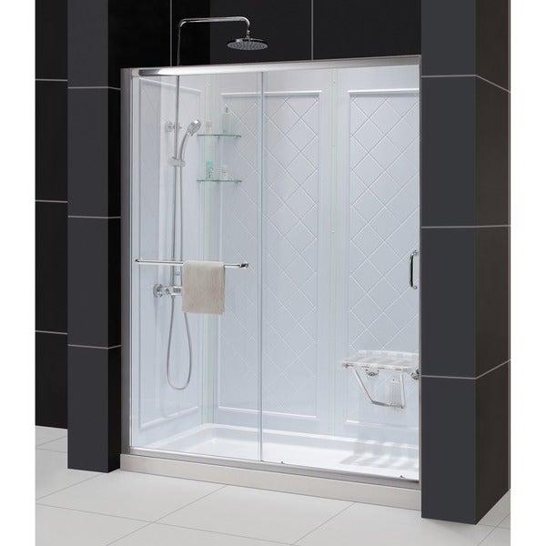 Dreamline Infinity Z Frameless Sliding Shower Door 32 X