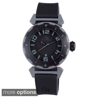 Men's Giulio Romano Ferrara Rubber Strap Date Watch