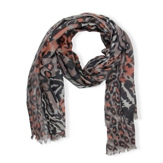 Handmade Saachi Women's Blanket Animal Print Wrap Scarf (China)