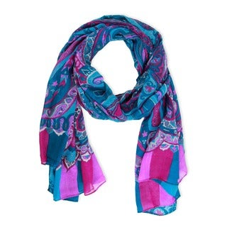 Saachi Women's Paisley Printed Scarf (China)