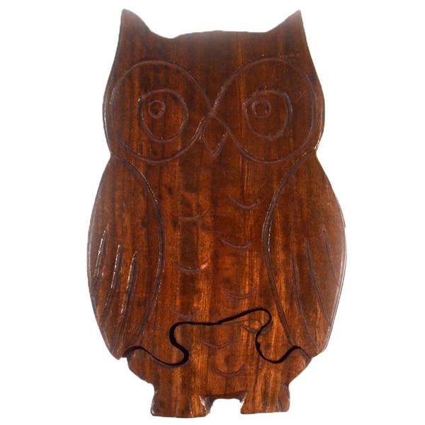 Owl Puzzle Box (India)