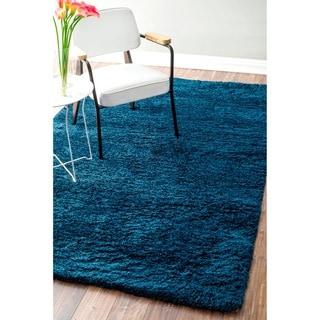 nuLOOM Handmade Soft Plush Shag Rug (7'6 x 9'6)