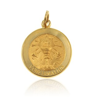 14K Gold Round Confirmation Cup Medal (USA)