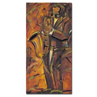 Joarez 'Jazz II' Canvas Art