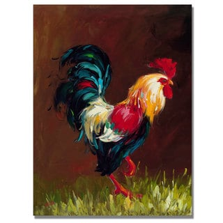 Rio 'Rooster' Canvas Art