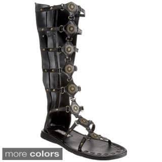 Funtasma Men's 'Roman-15' Tall Gladiator Sandals|https://ak1.ostkcdn.com/images/products/8475448/P15765118.jpg?impolicy=medium