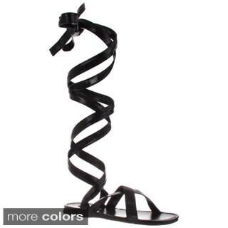Funtasma Men's 'Roman-12' Tall Wrapped Gladiator Sandals|https://ak1.ostkcdn.com/images/products/8475449/Funtasma-Mens-Roman-12-Tall-Wrapped-Gladiator-Sandals-P15765119.jpg?_ostk_perf_=percv&impolicy=medium