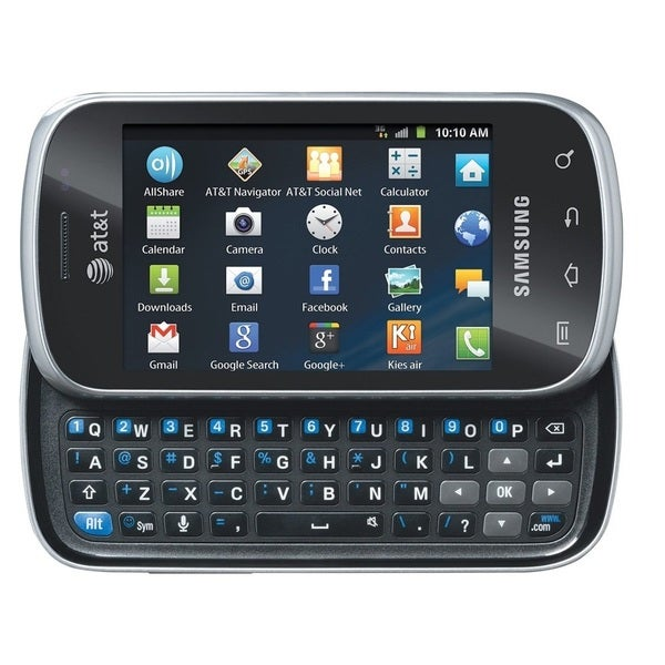 Samsung Galaxy Appeal I827 Unlocked GSM Slider Android Phone - Black/Silver