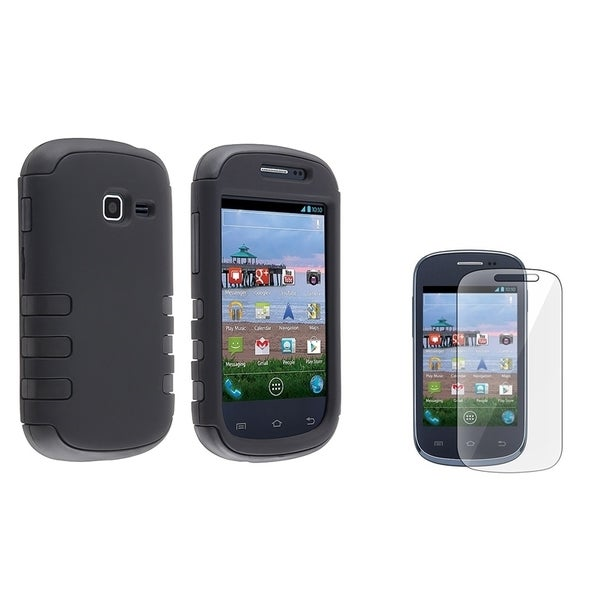 BasAcc Hybrid Case/ Screen Protector for Samsung Galaxy Centura S738C