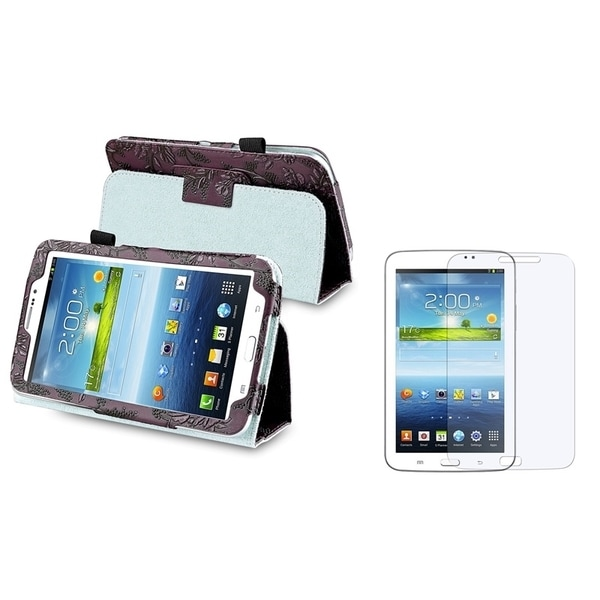 INSTEN Tablet Case Cover/ LCD Protector for Samsung Galaxy Tab 3 7.0 P3200