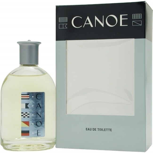 Dana Canoe Men's 4-ounce Eau de Toilette Splash, Grey, Si...