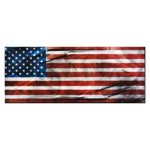 American Glory' Contemporary Metal Wall Art