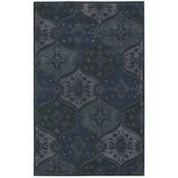 Nourison Hand-tufted India House Denim Rug (8 x 10'6) - 8 x 10'6