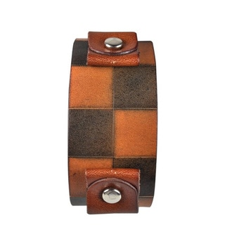Nemesis Checkered Dark Brown Band
