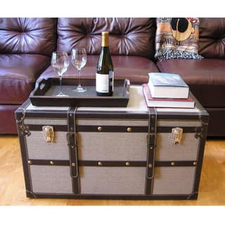 Decorative Vienna Large Wood Steamer Trunk Wooden Treasure Hope Chest|https://ak1.ostkcdn.com/images/products/8476311/P15765830.jpg?impolicy=medium