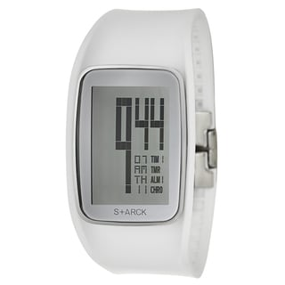 Philippe Starck Women's Stainless Steel Digital Chronograph Watch