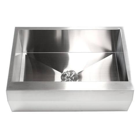 30-inch 16-gauge Stainless Steel Apron Kitchen Sink