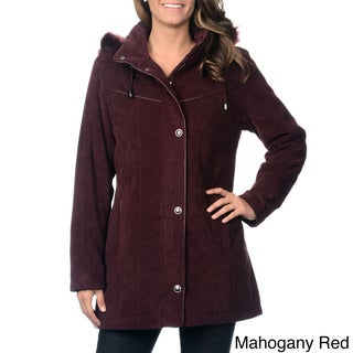Women's Detachable Hood Lycroft Jacket with Stand Collar
