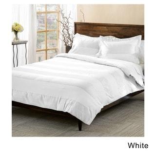 Superior Cotton Blend 600 thread Count Cabana Stripe 3-piece Duvet Cover Set