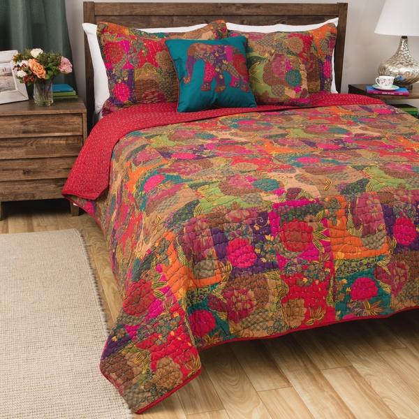 Greenland Home Fashions Jewel 5-piece Bonus Quilt Set
