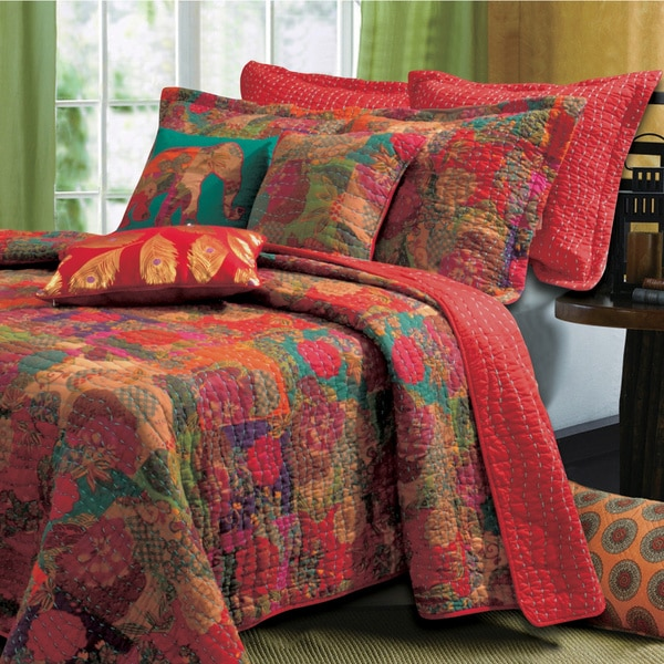 greenland home fashions jewel 5piece bonus quilt set free shipping today - Greenland Home Fashions