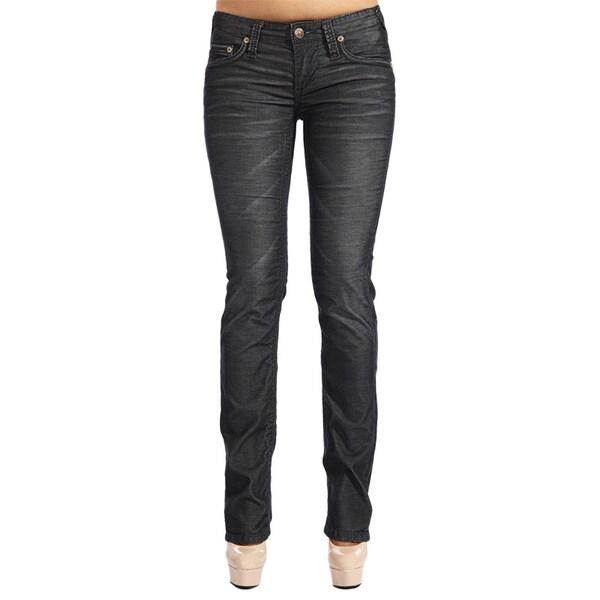 Stitch's Women's Dark Wash Boot Cut Jeans